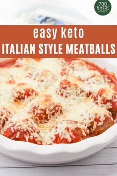 This keto meatballs recipe is seasoned as Italian meatballs, but the meatballs themselves can be used as a base for any number of different low carb meatball recipes.#easyrecipes #dinner #ketorecipes #onthetable Keto Meatballs, Parmesan Meatballs, Italian Meatballs, Best Keto Meals, Best Low Carb Recipes, Low Carb Chicken Recipes, Low Carb Pizza, Low Carb Lunch, Low Carb Keto