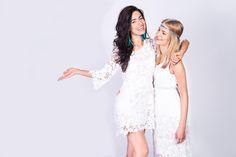 Sesja zdjęciowa w stylu boho  #boho #depare #dress #white #lace #maxi #mini