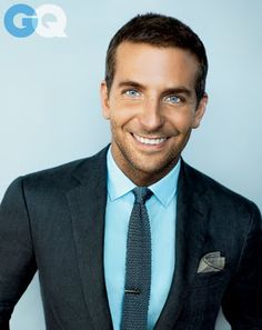 Photos: Bradley Cooper's GQ Cover Shoot Love him with shirt hair and gq photos are amazing