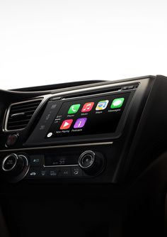 Apple CarPlay - The Best iPhone Experience on 4 Wheels - Coming to most new 2016 Chevy models later this year. | Apple.com