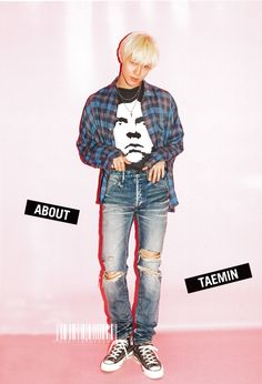 Taemin (SHINee) Spring Magazine (September 2016)