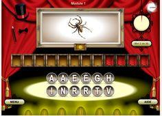 Des jeux pour mieux apprendre : les serious games !  Ici, le Visuel des Mots, un jeu pour réviser son vocabulaire français avec plaisir ;-)