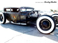 Sailor Jerry Hot Rod https://www.facebook.com/pages/Sunday-Slacker-Magazine/121020191279007