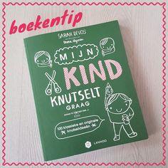 Boekentip: Mijn kind knutselt graag #leukmetkids #knutselen @lannoo