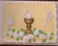 First Communion - My son's First Communion cake