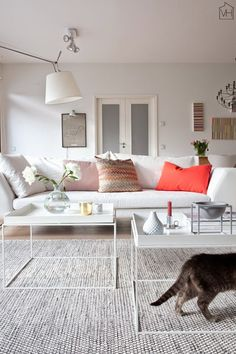 Suvis inspirational Finnish sitting room - my scandinavian home