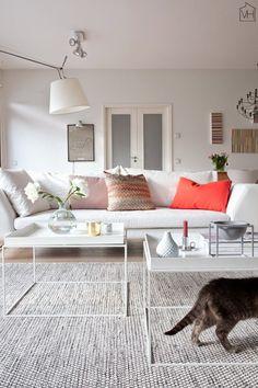 Suvis inspirational Finnish sitting room - my scandinavian home