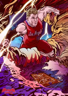 Blake Griffin 'Force of Nature' Art