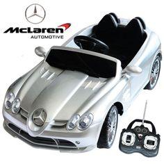 licensed mercedes mclaren slr 722 kids 12v sports car 24995 kids electric cars