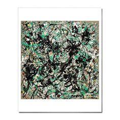 "LACMA Store - Jackson Pollock: 'No. 15' 22 x 28"" Print"