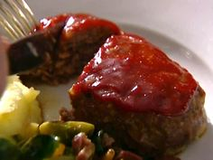 Individual Meat Loaves Recipe : Ina Garten : Food Network. I will use ground turkey instead. Looks so good!!
