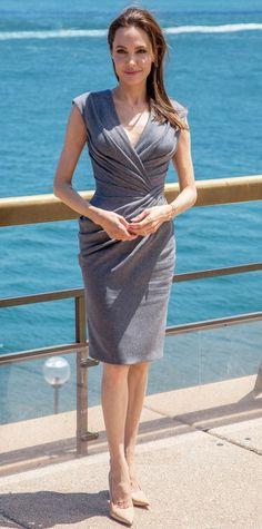"""*** OBOWIĄZKOWE byline tylko do odczytu *** INFphoto.com Angeliną Jolie w """"Unbroken"""" wywołanie zdjęć w Sydney Opera House w Sydney, Australia.  Na zdjęciu: Angelina Jolie Ref: SPL892883 171114 Picture od: INFphoto.com"""