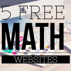 5 FREE Math Websites perfect for guided math rotations or math centers! I definitely want to check-out Prodigy.