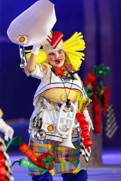 El carnavalde Tenerife  murgas infantiles,  Spain