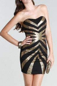 Gold and black..
