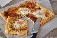 αυγα μπεικον πρωινο σφολιατα