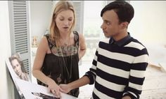 Go behind the scenes as Kate Moss meets fashion illustrator Hayden Williams | Flickr - Photo Sharing!
