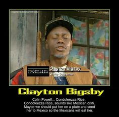 -clayton bigsby condoleezza rice dave chappelle show quotes kent . Funny Pix, Funny Images, The Funny, Hilarious, Funny Stuff, Richard Pryor Quotes, Dave Chappelle Meme, Chappelle's Show, Condoleezza Rice
