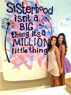 Alpha Delta Pi UCF Sisterhood Banner, Formal Recruitment
