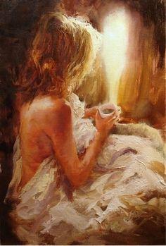 """Gentle Morning Light"" by Scott Mattlin Oil ~ 30 x 20"