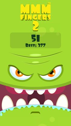 I scored 51 points in Mmm Fingers 2! Can you beat my score? #mmmfingers2