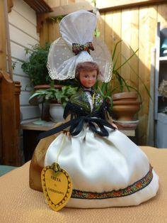 poupée LE MINOR, Freya de Cherbourg, NORMANDIE, ( vintage french doll )