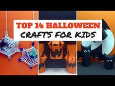 halloween craft top 14 halloween crafts for kids youtube - Youtube Halloween Crafts
