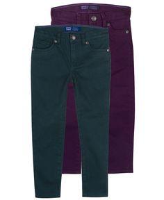 Great fall colors. Levi's Kids Jeans, Little Girls Outta Control Denim Leggings - Kids Girls 2-6X - Macy's $29.99 #MacysBTS