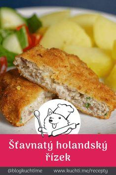 Holandský řízek - šťavnatá lahůdka, kterou si zamilujete Sandwiches, Food And Drink, Diet, Bakken, Paninis