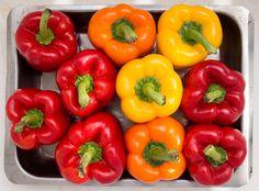 Yemista - Greek stuffed peppers (vegan) - Lazy Cat Kitchen
