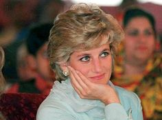April, 1996: Diana, Princess of Wales watching a children's show at Kahn's cancer hospital in Lahore, Pakistan.
