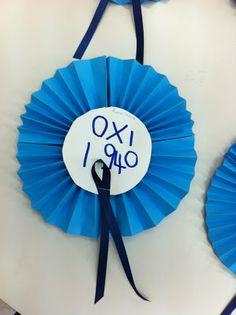 fun-tastic 14: 28η Οκτωβρίου - Κατασκευές 28th October, Greek Language, National Days, Autumn Activities, Fall Crafts, War, School, Projects, Kids