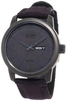 Citizen Men's Black Stealth Watch.