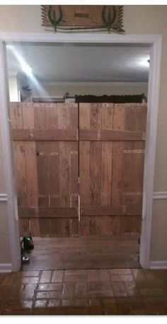 Saloon doors - repurposed pallets