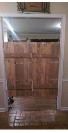 Saloon doors - repurposed pallets