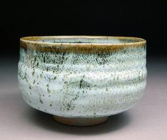 Handmade Stoneware Tenmoku and Sage Nuka Glazed by shyrabbit