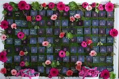 "38 Likes, 5 Comments - Just Jayne Events (@justjayneevents) on Instagram: ""Escort Card Flower Wall at Hope's Bat Mitzvah!  . . . #BatMitzvah #flowers #flowerwall…"""