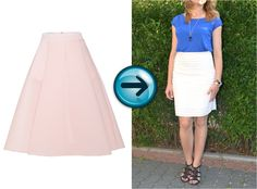 My new re-fashioned skirt