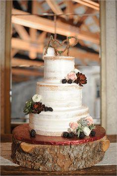 Rustic And Romantic California Wedding