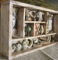 Memory Box Assemblage