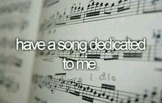 Be4 I die...