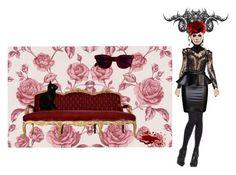 Modern Vampire by gabri-ella on Polyvore featuring art and modern