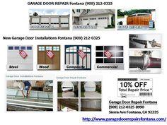 GarageDoorRepairsFontana.com are a leading garage door repair company, providing sectional garage doors, up and over garage doors, steel doors, roller and garage doors springs.