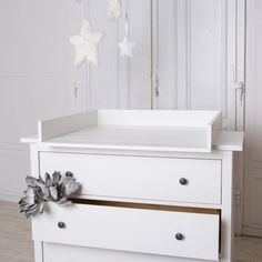 Handmade chest of drawers changing table TOP for IKEA Hemnes