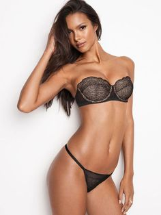 Balconet Black Fishnets Lais Ribeiro Bridal Lingerie Lace Tops Lounge Wear