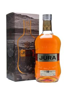 Isle of Jura 16 Year Old - Diurachs' Own Scotch Whisky : The Whisky Exchange Whiskey Bottle, Vodka Bottle, Isle Of Jura, Single Malt Whisky, 10 Year Old, Scotch Whisky, Distillery, Bourbon, Over The Years