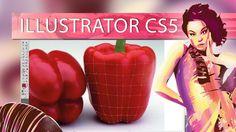 Herramienta Malla 2 - Adobe Illustrator CS5