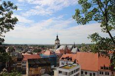 """""""Über den Dächern"""" - Blick auf Weißenfels - Marienkirche"""