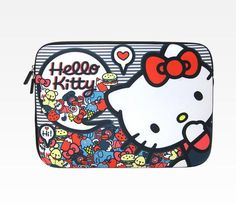 Hello Kitty 13 Laptop Case: Bears