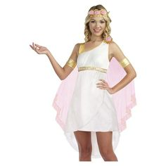 Junior Tween Greek Goddess Aphrodite Roman Halloween Costume